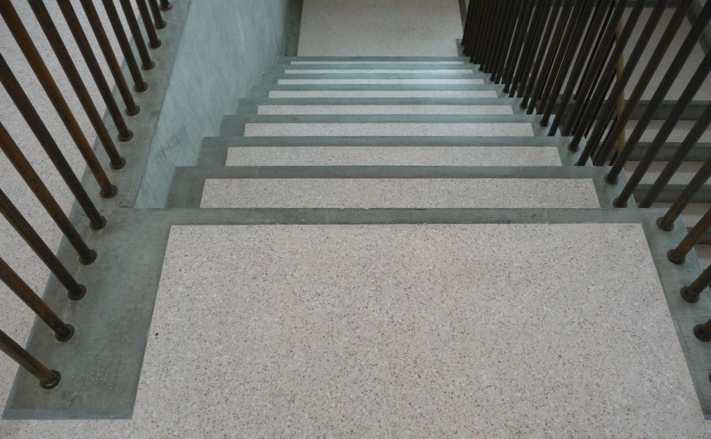 Resin Terrazzo Staircase Sussex