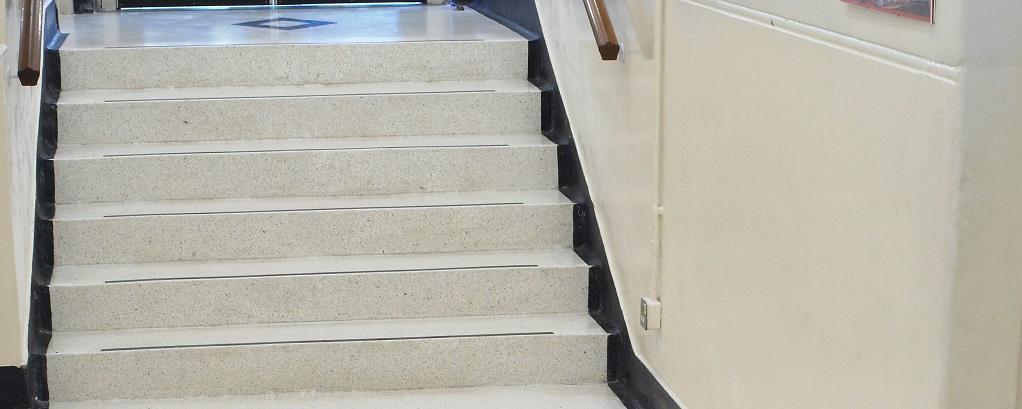 Resin Terrazzo Staircase