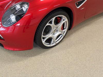 Resin Flooring for Showroom