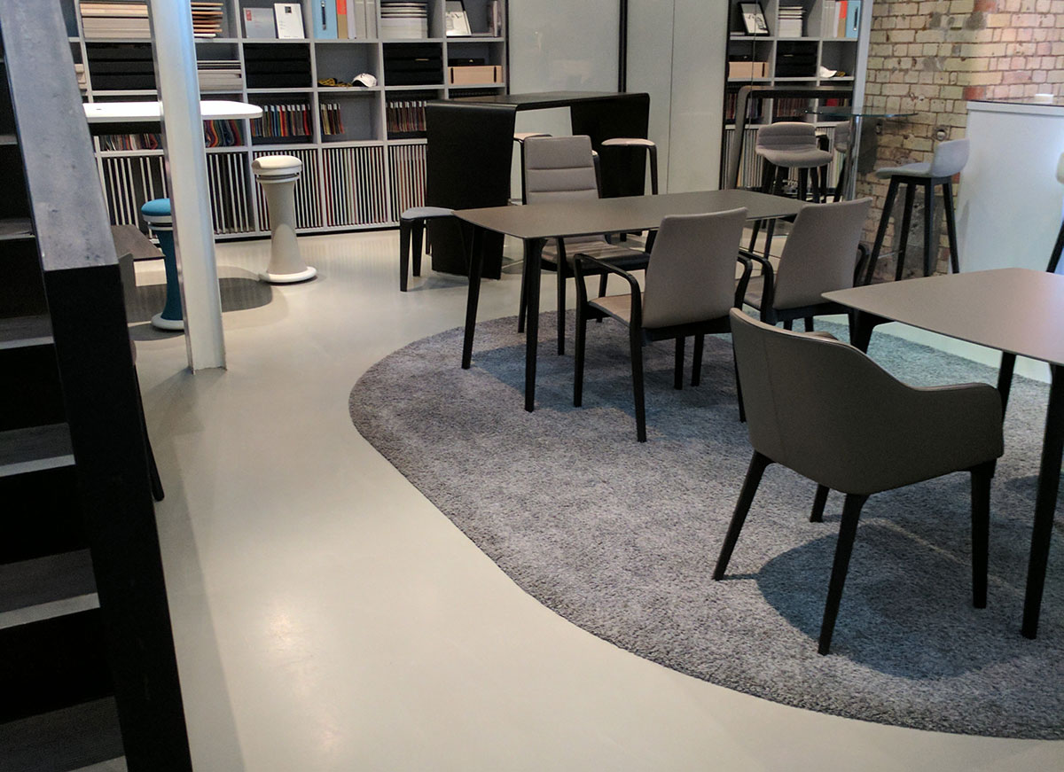 Resin Flooring for retail