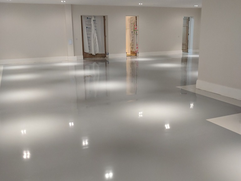 Self Smoothers Resin Flooring